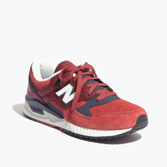 Madewell x New Balance W530 Running Shoe sz 9 NWT